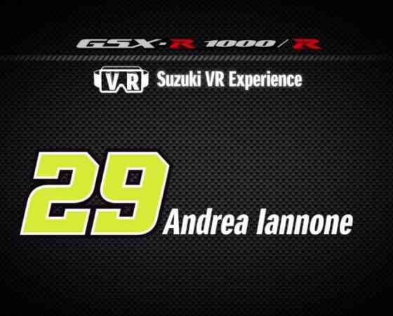 "Andrea Iannone x VR   The making of new ""Suzuki VR Experience"""
