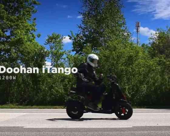 Road Trip From Zagreb -Crikva on electric Doohan iTank & iTango
