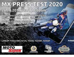 Yamaha MX Press test u Bedekovčini